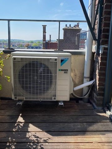 Airconditioning montage
