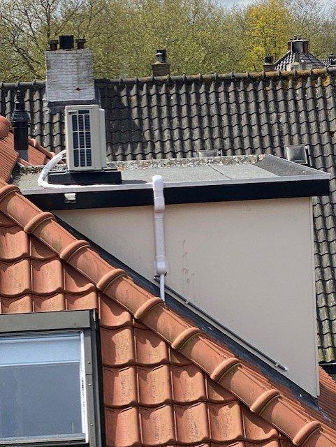 Airconditioning op dak